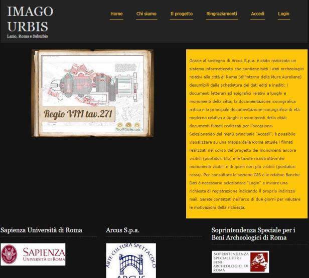 ROMA ARCHEOLOGICA & RESTAURO ARCHITETTURA: PROF. ANDREA CARANDINI,