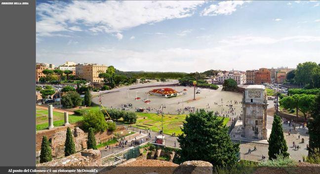ROMA ARCHEOLOGICA & RESTAURO ARCHITETTURA: L'INCHIESTA - Il Comune non ama l'archeologia. La spesa per i nomadi è il doppio. Non più di 15 milioni per  i siti culturali. I campi rom ne costano 24, IL TEMPO & CORRIERE DELLA SERA (30|04|2015).